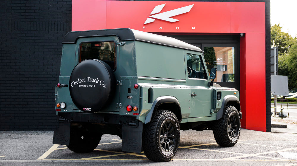 Keswick Green Land Rover Defender 2.2 TDCI Hard Top Chelsea Wide Track