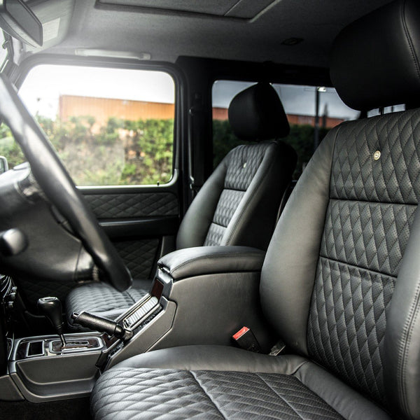 Mercedes G-Wagon 2 Door (1990-2006) Leather Interior by Chelsea Truck Company - Image 1475