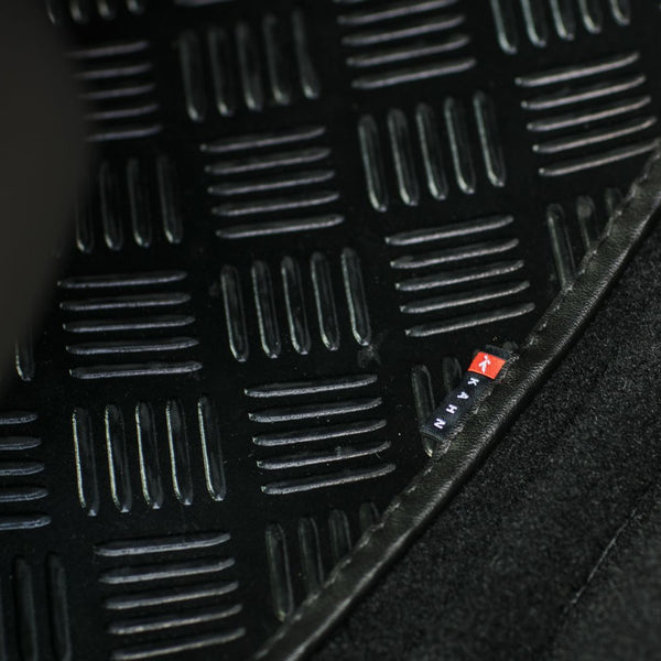 Jeep Wrangler Jk (2007-2018) Chequered Rubber Mats - 4 Door by Chelsea Truck Company - Image 2191