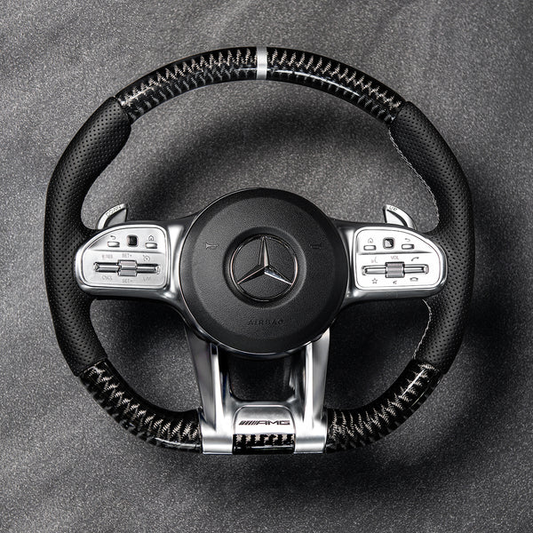 MERCEDES G WAGON (2018-PRESENT) G63 AMG CARBON STEERING WHEEL