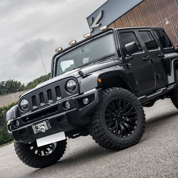 Jeep Wrangler Jk (2007-2018) Expedition Winch Bumper And Grille by Chelsea Truck Company - Image 2148