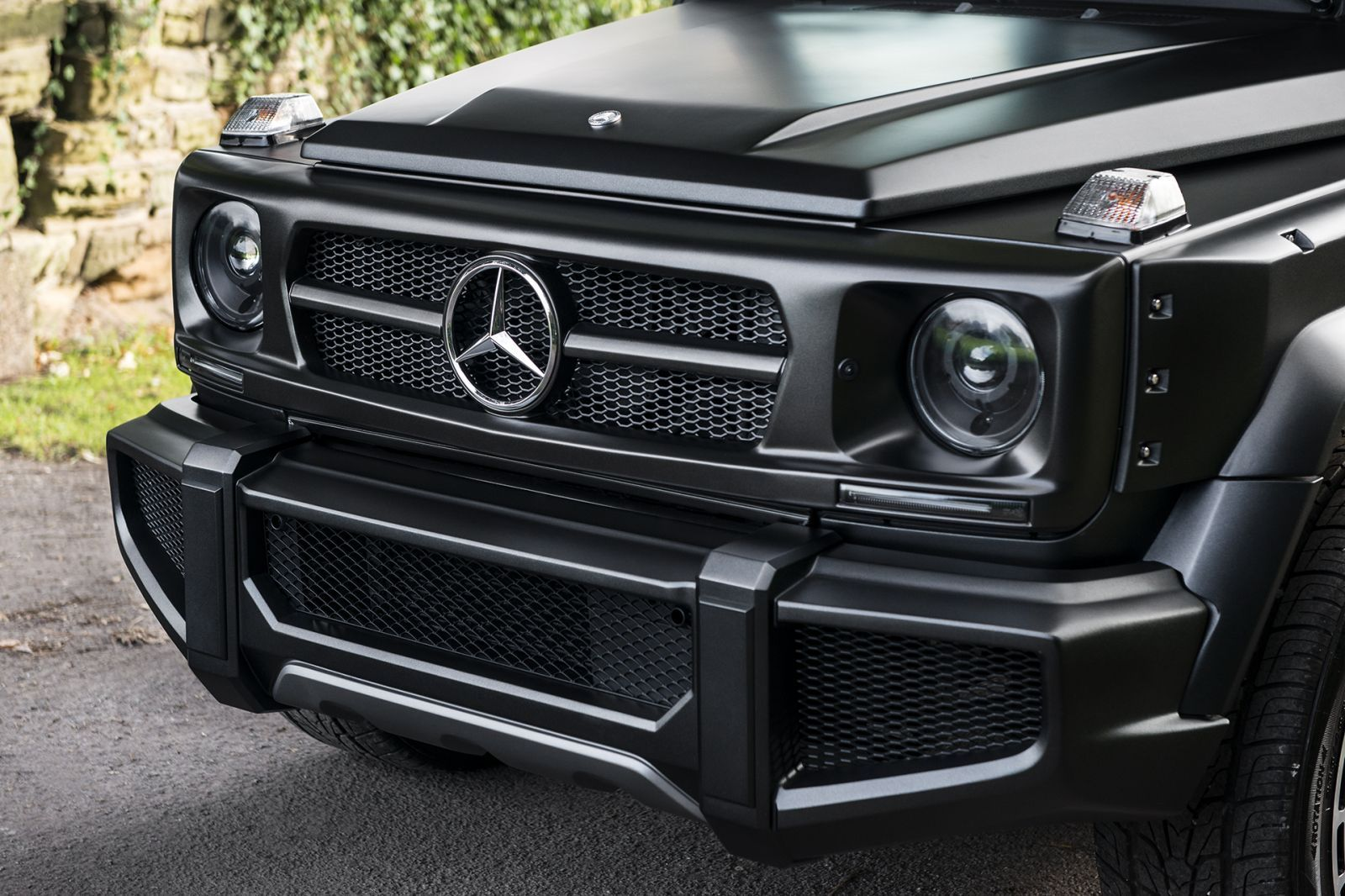 Mercedes G-Wagon (1990-2018) Vented Front Bumper Image 5139