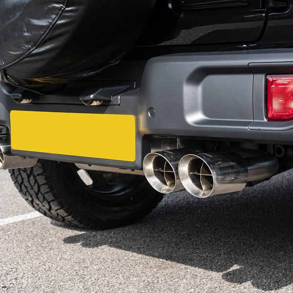 Jeep Wrangler Jl (2018-Present) 2 Door Quad Crosshair Exhaust System by Chelsea Truck Company - Image 2711