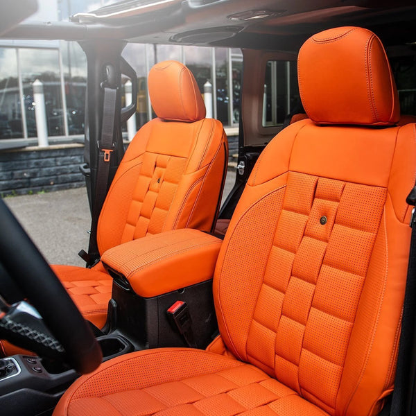 Jeep Wrangler Jl (2018-Present) 2 Door Leather Interior by Chelsea Truck Company - Image 1286