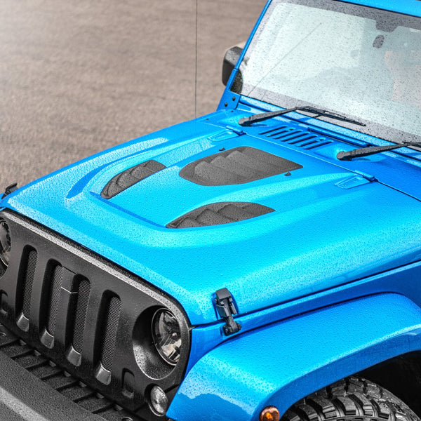 JEEP WRANGLER jk (2007-2018) Expedition Iron Man Vented Bonnet