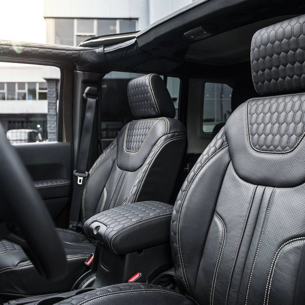 Jeep Wrangler Jk (2011-2018) 4 Door Leather Interior by Chelsea Truck Company - Image 1425