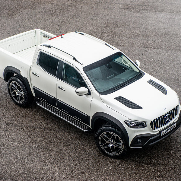 Mercedes Benz X-Class (2019-Present) Bodyguard Bonnet Vents by Kahn - Image 2488