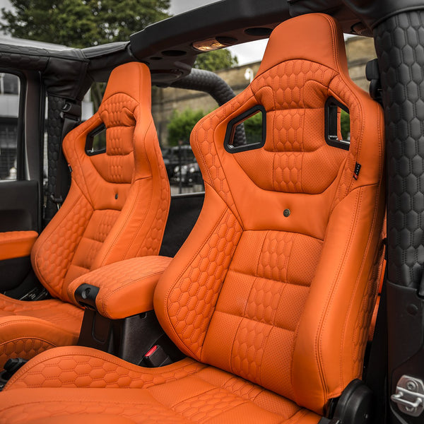 Jeep Wrangler Jk (2011-2018) 2 Door Leather Interior by Chelsea Truck Company - Image 1346