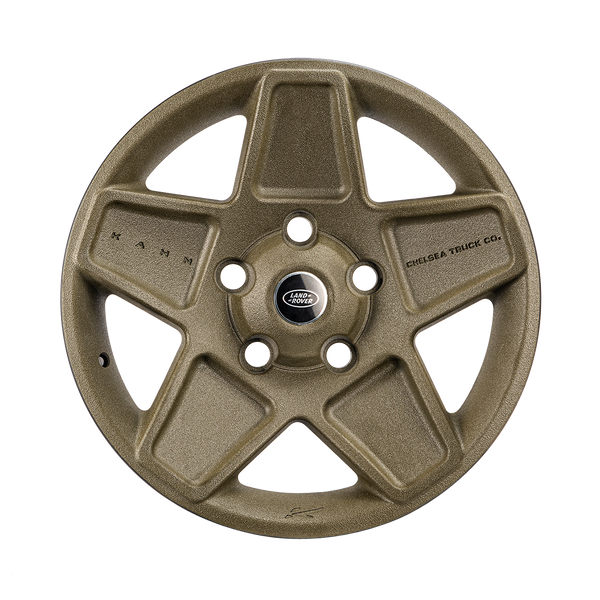 Land Rover Defender (1991-2016) 3D Texture Painted Mondial Retro Light Alloy Wheels by Chelsea Truck Company - Image 3004