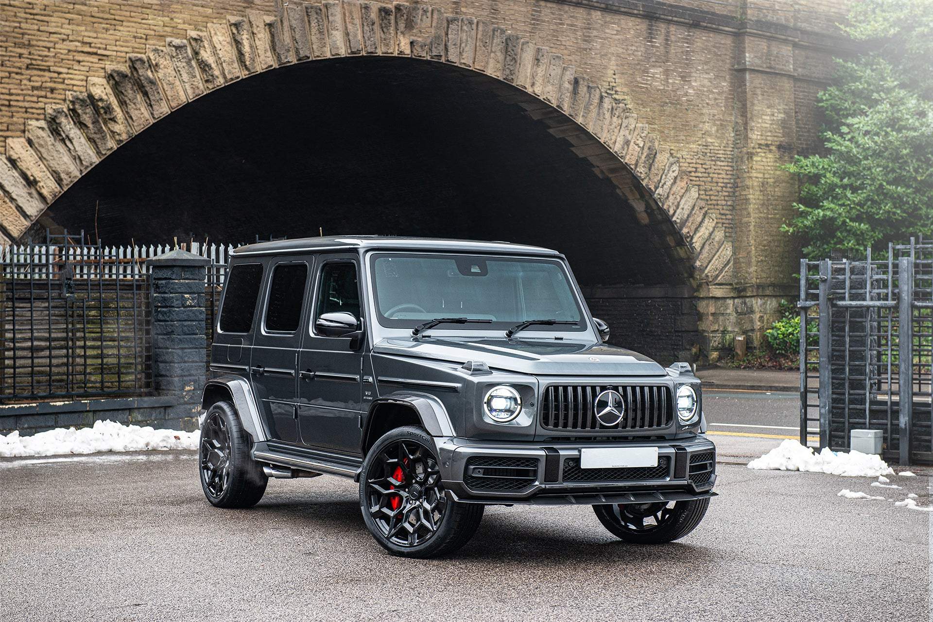MERCEDES G-WAGON (2018-PRESENT) G63 AMG HAMMER EDITION II - EXPOSED CARBON BODY KIT