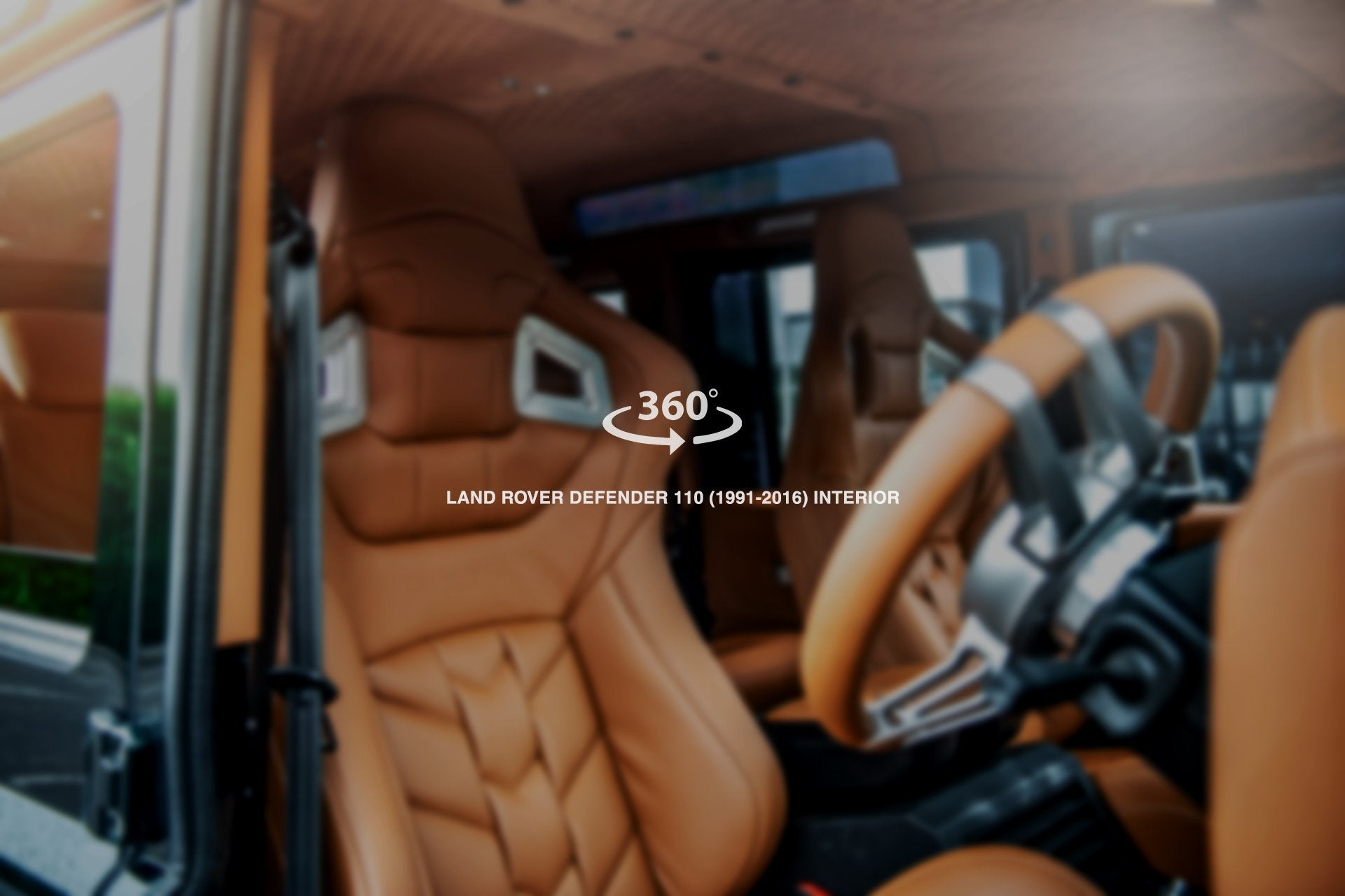 Land Rover Defender 110 (1991-2016) Sports Interior