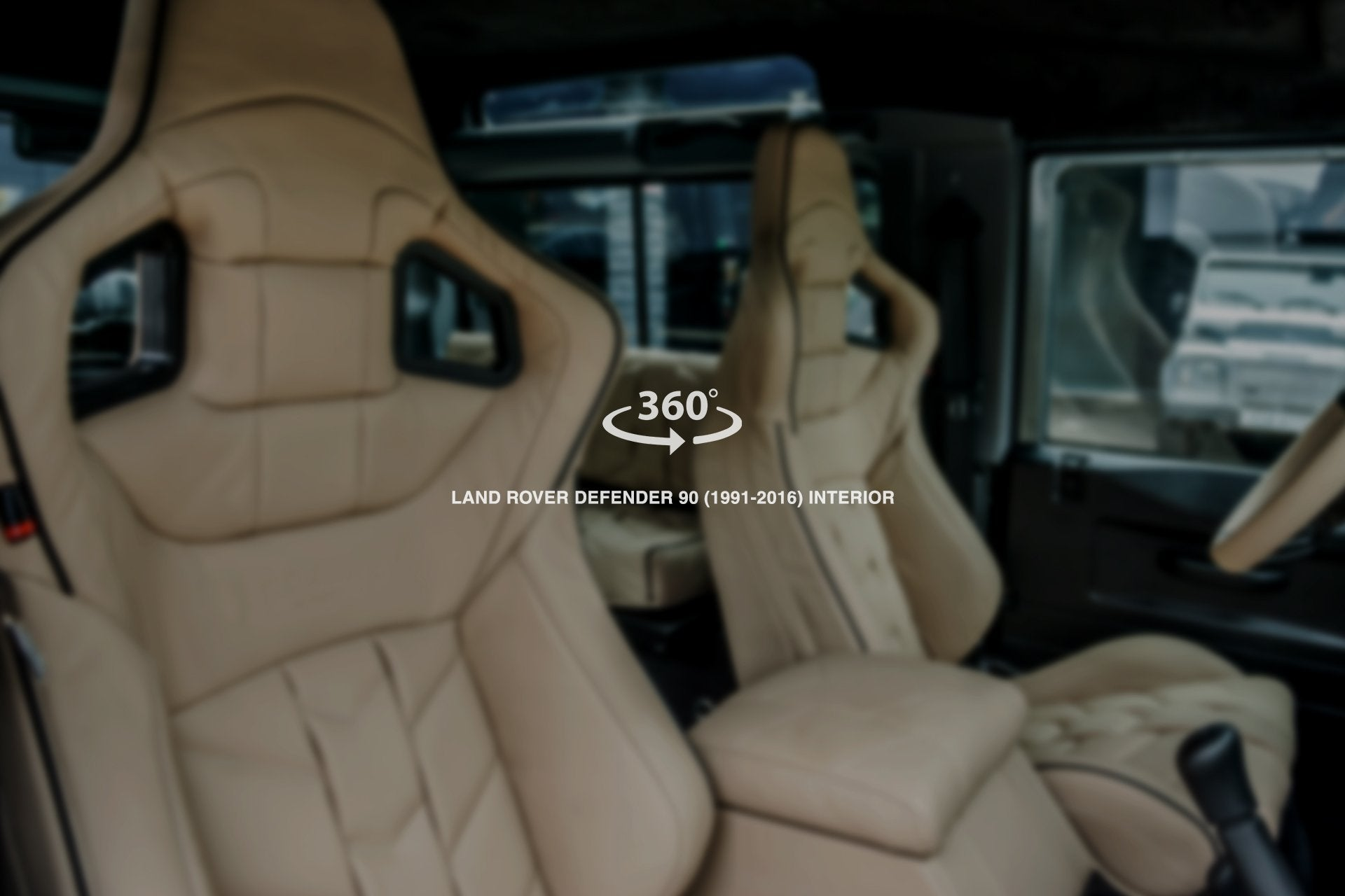 LAND ROVER DEFENDER 90 (1991-2016) sports Interior - 6 Seats