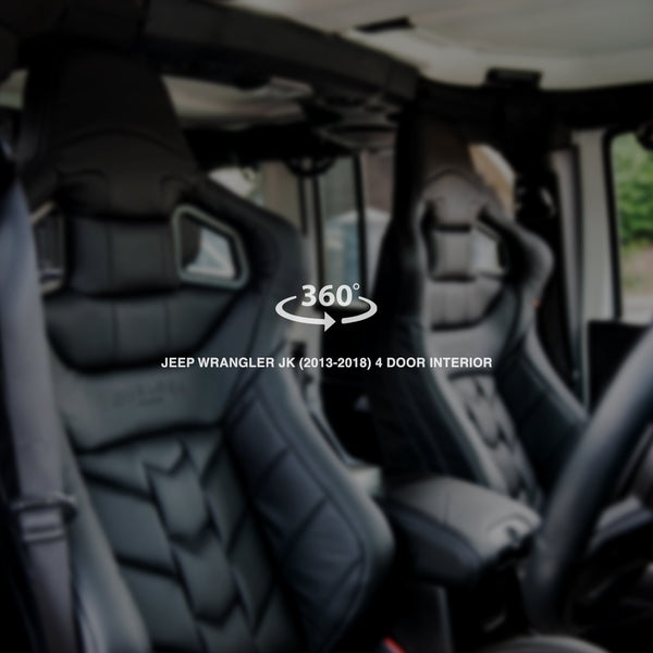 Jeep Wrangler JK (2013-2018) 4 Door Sports Interior