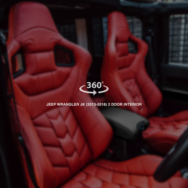 Jeep Wrangler jk (2013-2018) 2 Door Sports Interior