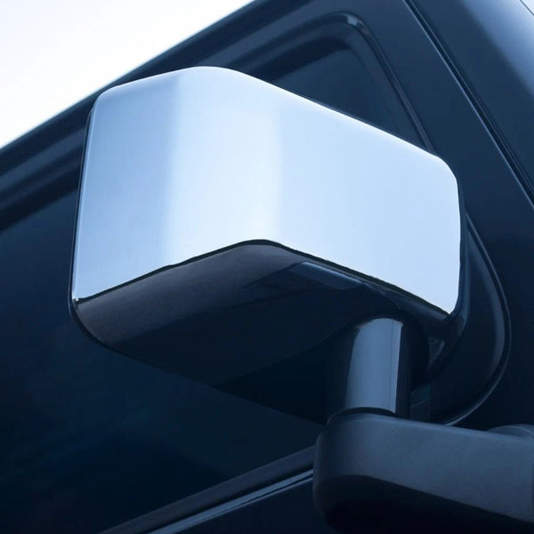Jeep Wrangler JK (2007-2018) CHROME WING MIRROR COVERS