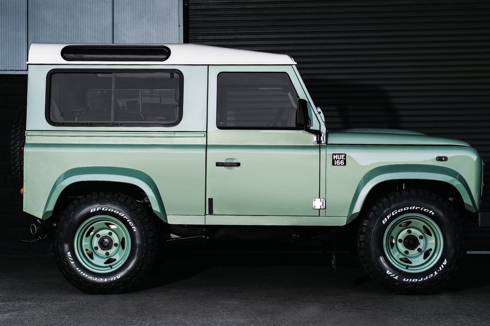 Land Rover Defender 90 (1991-2016) Wide Forest Wheel Arches by Chelsea Truck Company - Image 2694