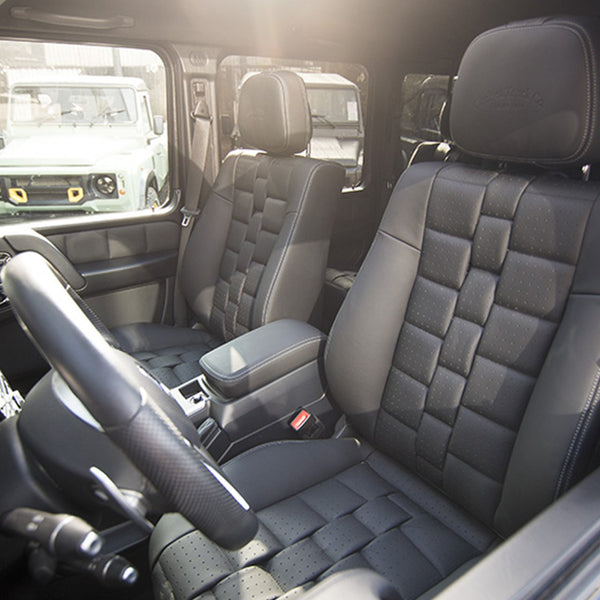 Mercedes G-Wagon (1990-2018) Leather Interior by Chelsea Truck Company - Image 1469