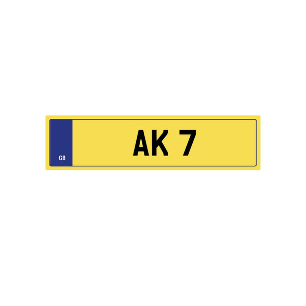 Private Plate Ak 7 by Kahn - Image 3755