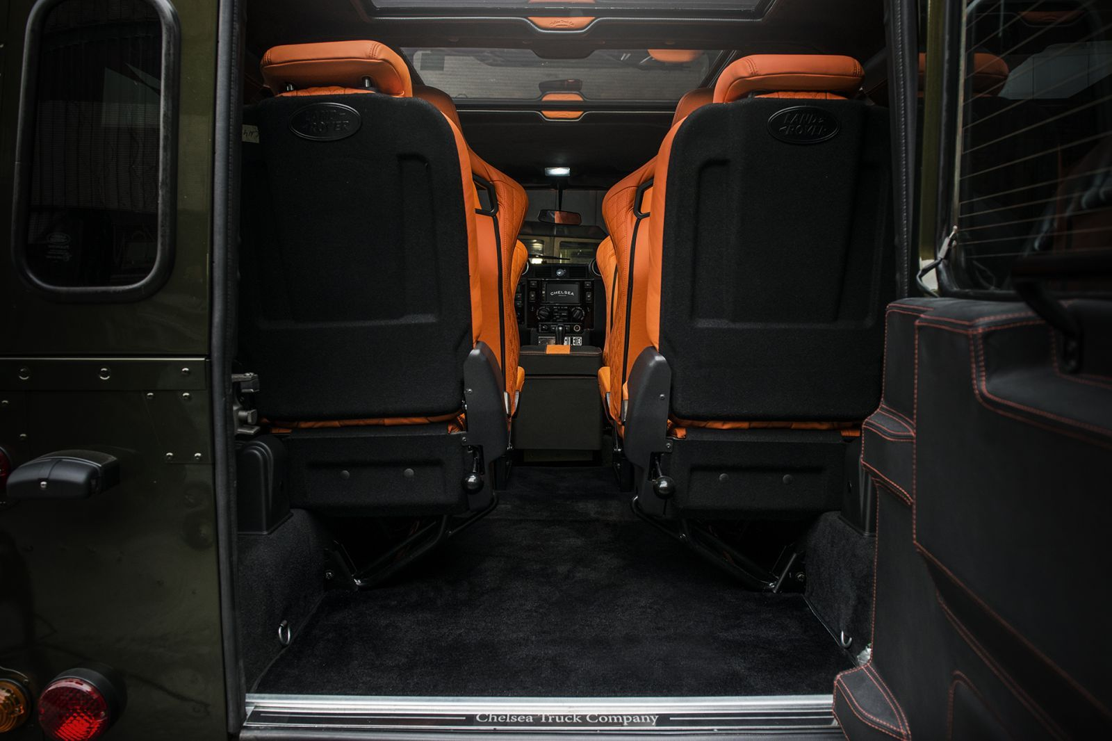 Land Rover Defender 90 (1991-2016) Floor Carpet by Chelsea Truck Company - Image 765