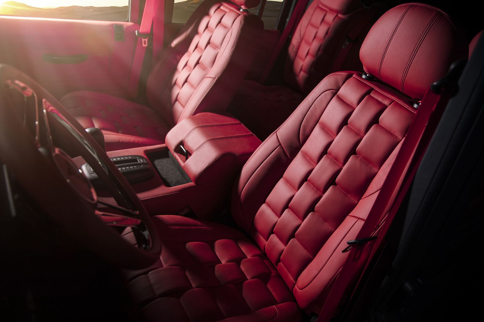 Land Rover Defender 110 (1991-2016) Leather Interior by Chelsea Truck Company - Image 1093