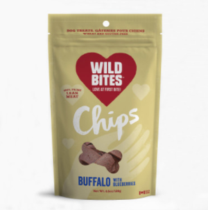 Wild Bites - Buffalo with Blueberries Chips 120g