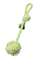 Budz - Monkey Fist w/ Stem, Loop Green/Yellow 15""