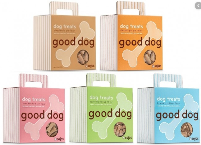 Sojos - Good Dog Treats 8 oz