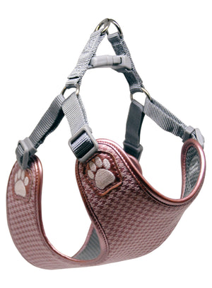 Pretty Paw Harnesses - Melrose Houndstooth