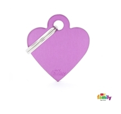 My Family Tag - Purple Heart