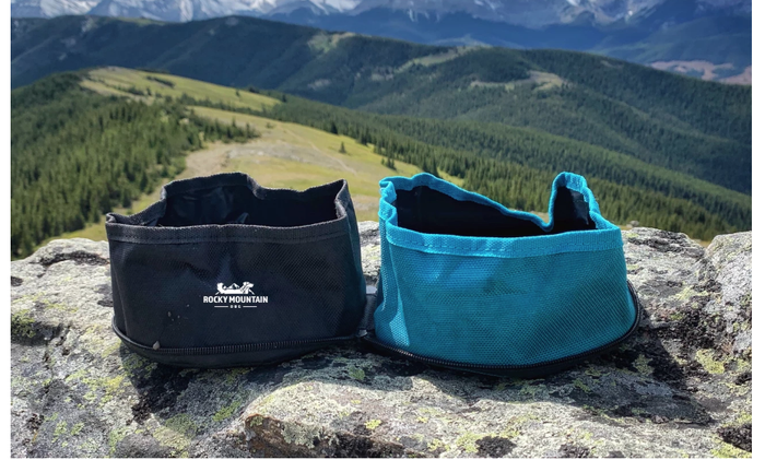 Rocky Mountain Dog Travel Bowl