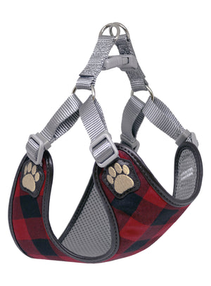 Pretty Paw Harnesses - Buffalo Check