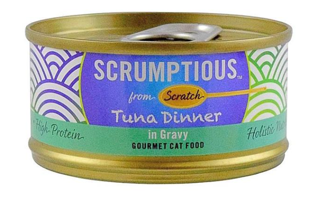 Scrumptious - Tin Cat Food 2.8 oz.
