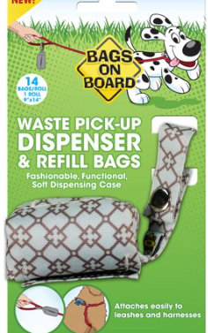 Bags on Board - Poo Bag Dispenser