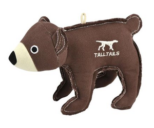 "Tall Tails - 5"" Bear with Squeaker"