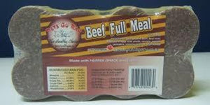 Pets Go Raw - Full Meals 1/4 lb patties (8 pack)