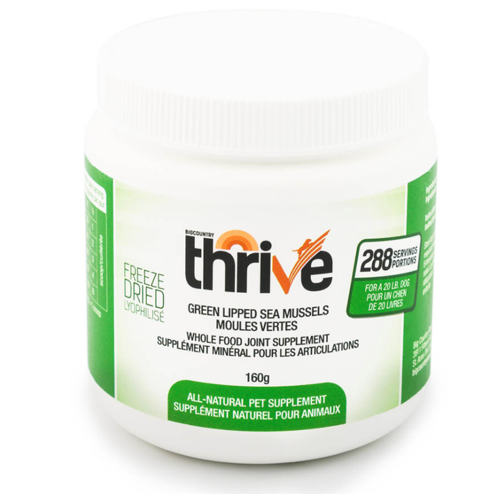 Thrive - Green Lipped Mussel