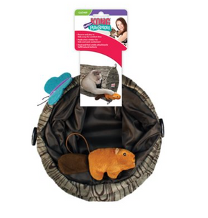 Kong Cat Toys - Burrow PlaySpace