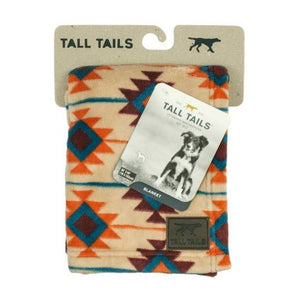 Tall Tails - Fleece Blanket - Southwest (DISCONT)