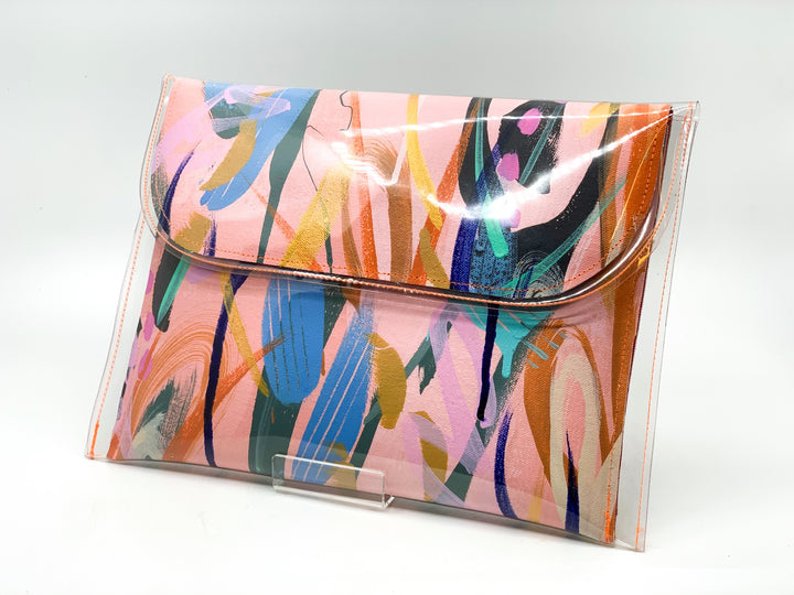 Love grows here Large Clutch by Tiff Manuell