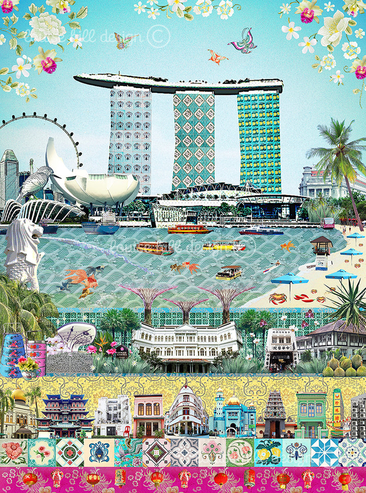 We love Singapore by Louise Hill