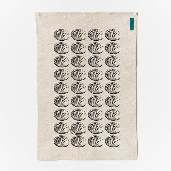 Pinyin Press Tea Towel Baozi (other colours available)