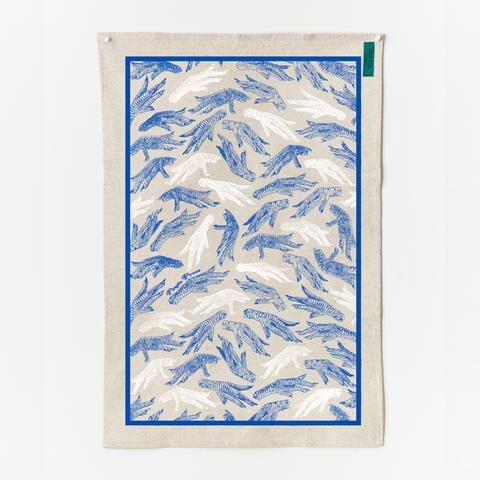 Pinyin Press Tea Towel Chicken Feet