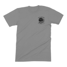 "Load image into Gallery viewer, ""Globe"" Tee in Gray"