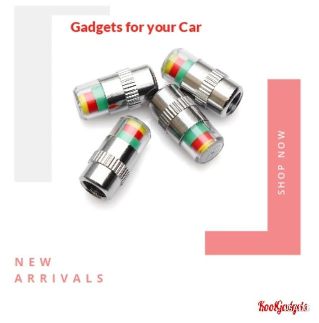 New Arrival - Car Tyre Valve Caps