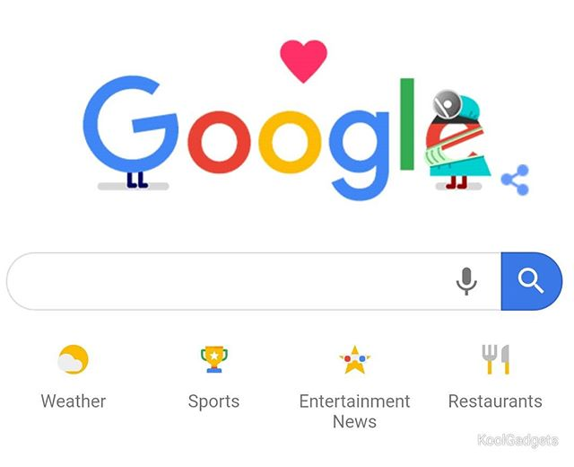 Google doodle thanks health care workers