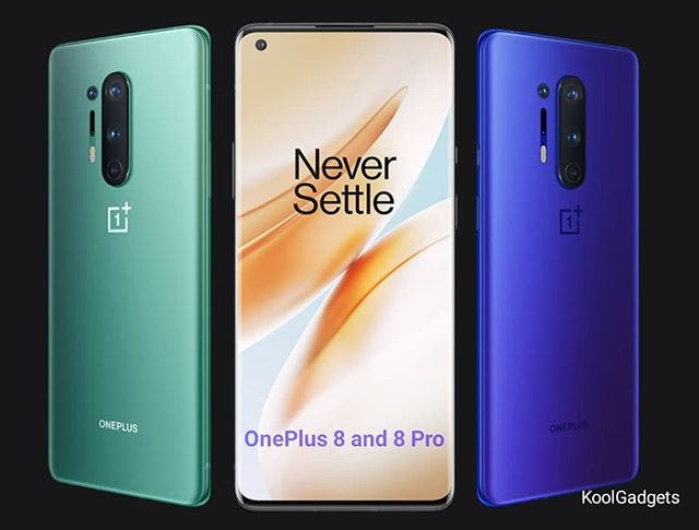 OnePlus 8 and 8 Pro announced today