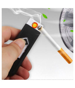 USB Rechargeable Cigarette Lighter (Black) KoolGadgets