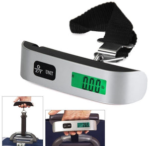 IGADG 50kg Luggage Weighing Scale Machine with LED Backlit Display and Battery. KoolGadgets