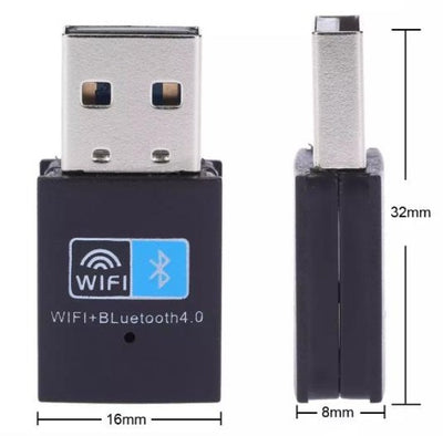 2 in 1 WiFi and Bluetooth 4.0 Wireless Adapter KoolGadgets
