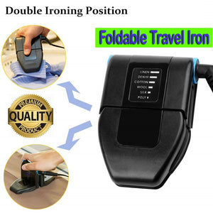 Lightweight Foldable Mini Travel Iron For Ironing Clothes KoolGadgets